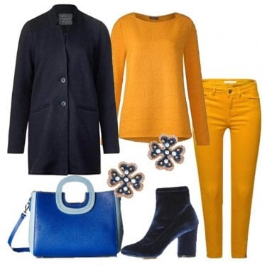 Outfit Il giallo che illumina