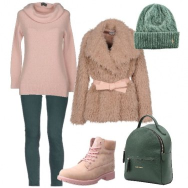 Outfit Verde menta