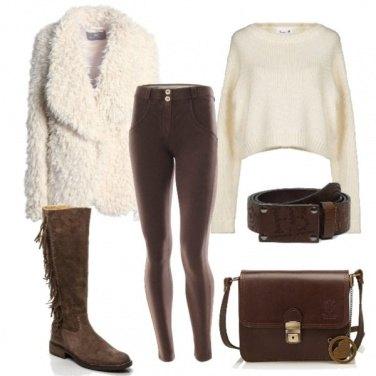 Outfit Stivaletti con le frange