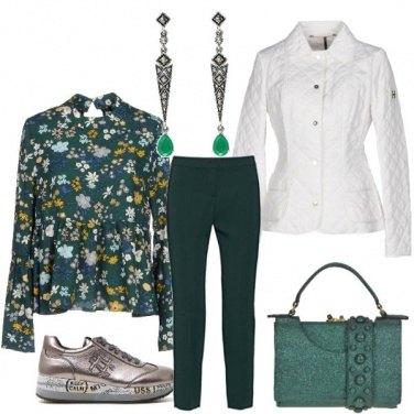Outfit Keep calm e ama il verde