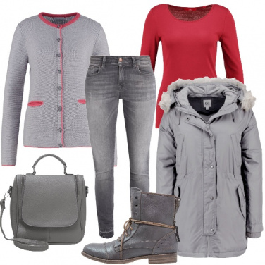 Outfit Grigio amore