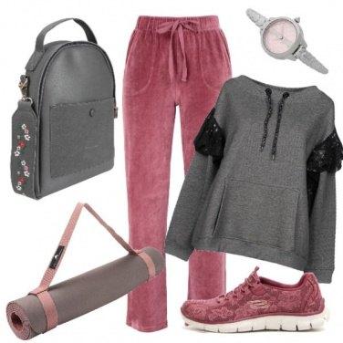 Outfit In palestra con femminilità