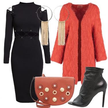 Outfit Arancio in disco