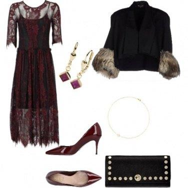 Outfit Bon Ton, bordo\' di sera