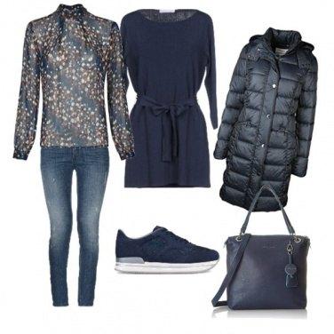 Outfit Caldo blu