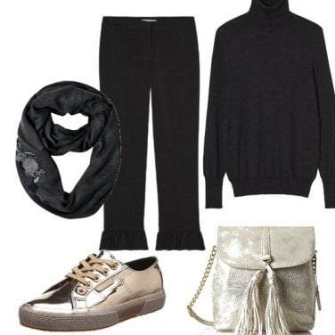 Outfit Nero basic