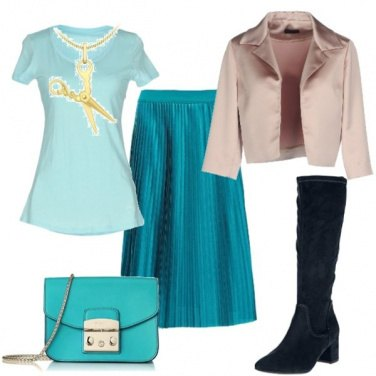 Outfit Coloriamo un po\' la nostra giornata