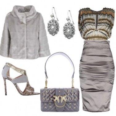 Outfit Serata in grigio