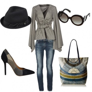 Outfit Ufficio country