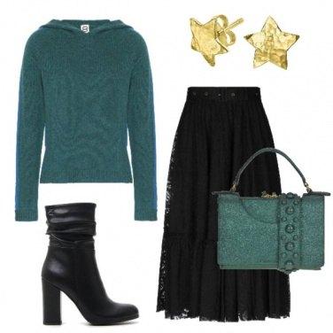Outfit Verde porta fortuna