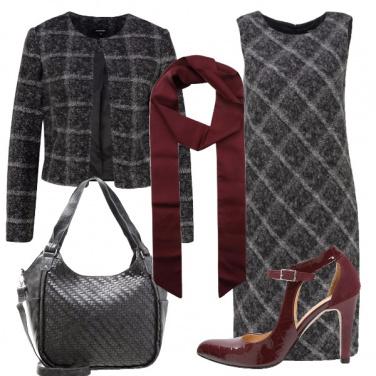 Outfit Coordinato a quadri