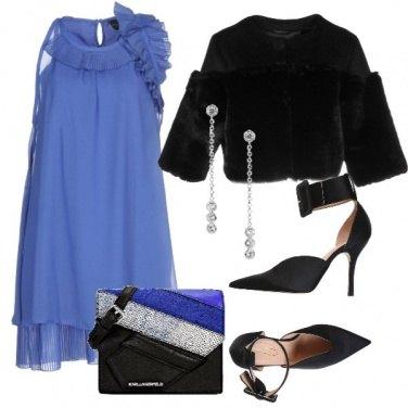 Outfit Il vestito indaco