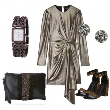 Outfit Novembre in bronzo