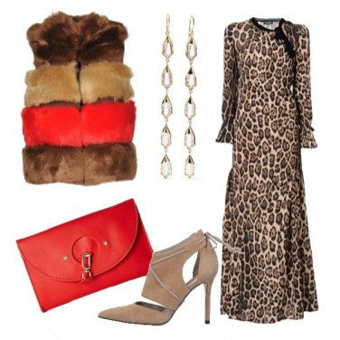 Outfit Trendy in animalier ed ecofur