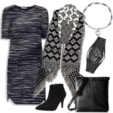 Outfit Trendy black & white