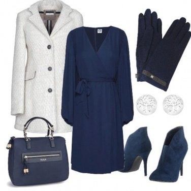 Outfit Lana, camoscio e guanti fashion