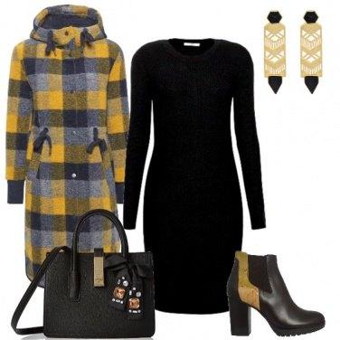 Outfit Giallo caldo inverno