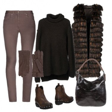 Outfit Totalbrown