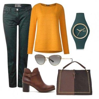 Outfit Pausa caffè all\'università