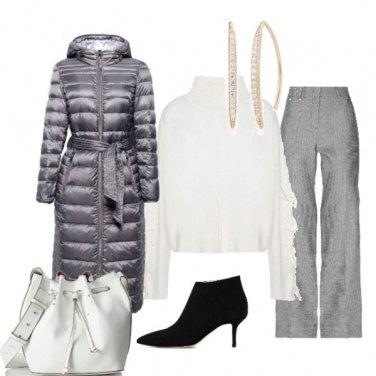 Outfit Colori freddi che scaldano