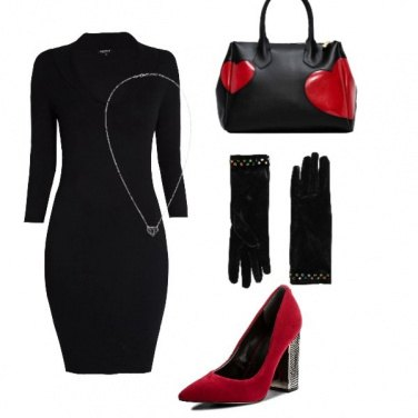 Outfit Cuori trendy