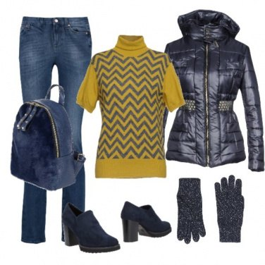 Outfit Bluegold