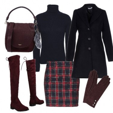 Outfit Bluetartan