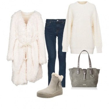 Outfit Bianco inverno