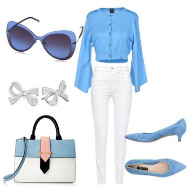 Outfit In azzurro