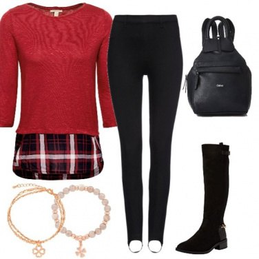 Outfit Basic milanista