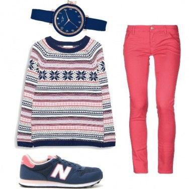Outfit Il maglione caldo