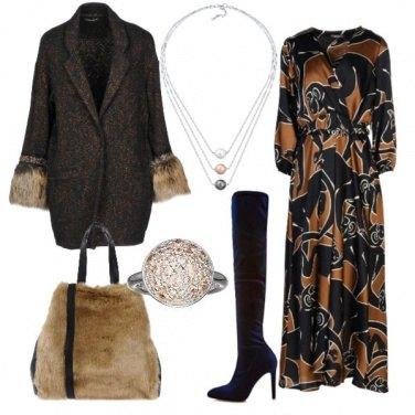 Outfit Vestito lungo e cuissard