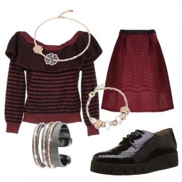 Outfit Semplice decisa e brillante