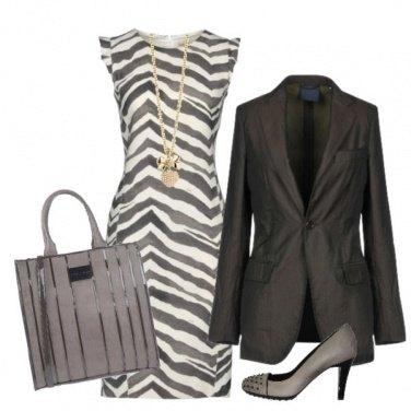 Outfit Tubino animalier