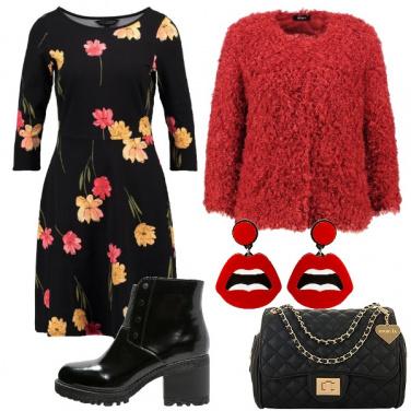 Outfit Fiori e grinta