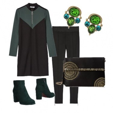 Outfit Abitino + Leggins