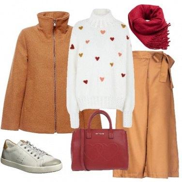 Outfit Cuore caldo