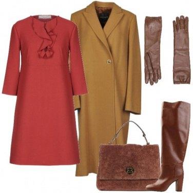 Outfit Il cappotto senape