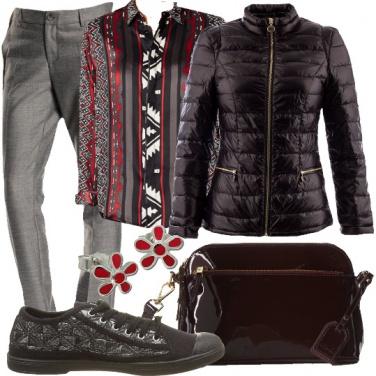 Outfit Un comodo ed economico giubbino