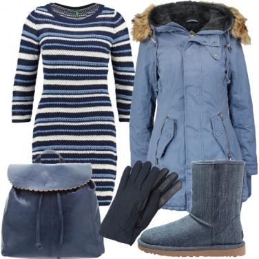 Outfit La serenità che dona l\'airy blue