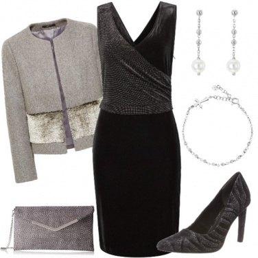 Outfit In argento... Per le feste