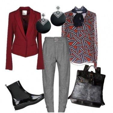 Outfit Geometrico
