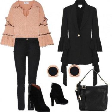 Outfit Tra l\'elegante e il trendy