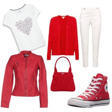 Outfit Love red