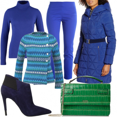 Outfit Pura lana in colori vitaminici