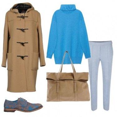 Outfit Il calore della maglia