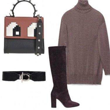 Outfit Maglione lungo