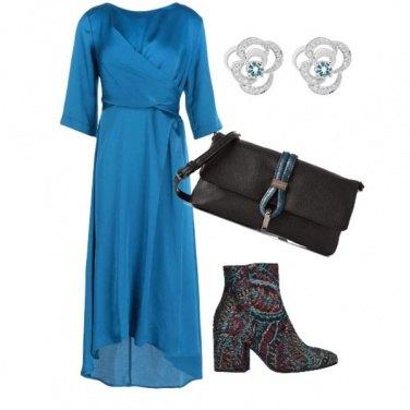 Outfit Gli stivaletti con gli arabeschi