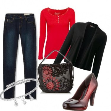 Outfit Shade of Red