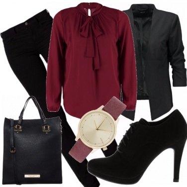 Outfit Fiocco in rilievo